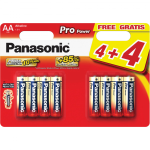 LR6 8BP AA Pro Power alk PANASONIC