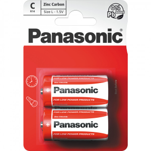 R14 2BP C Red zn PANASONIC