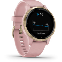 Vívoactive4S Light Gold/Pink band GARMIN