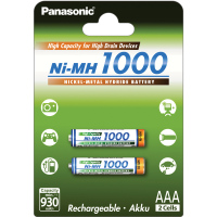 HR03 AAA 4HGAE/2BE HICAP 1000 PANASONIC