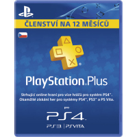 PS Plus card 365 dní SONY