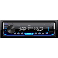 KD-X176 AUTORÁDIO S USB/MP3 JVC