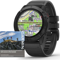 Fenix 6X PRO Glass Black MAP/Mus. GARMIN