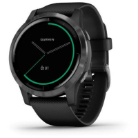 vívoActive4 Gray/Black Band GARMIN