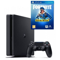 PS4 Pro 1TB black+FORTNITE