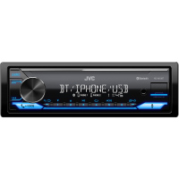 KD-X372BT AUTORÁDIO BT/USB/MP3 JVC